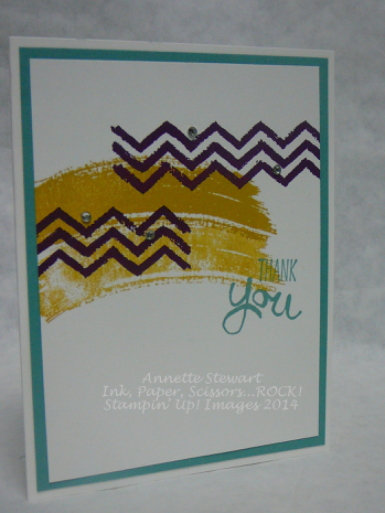Thank you Work of Art card…