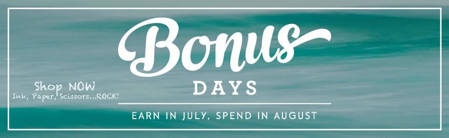 Bonus Days…